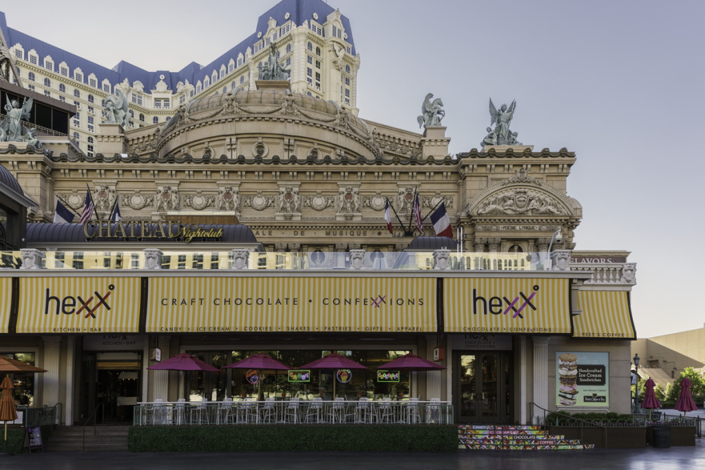 HEXX chocolate & confexxions - Paris Las Vegas