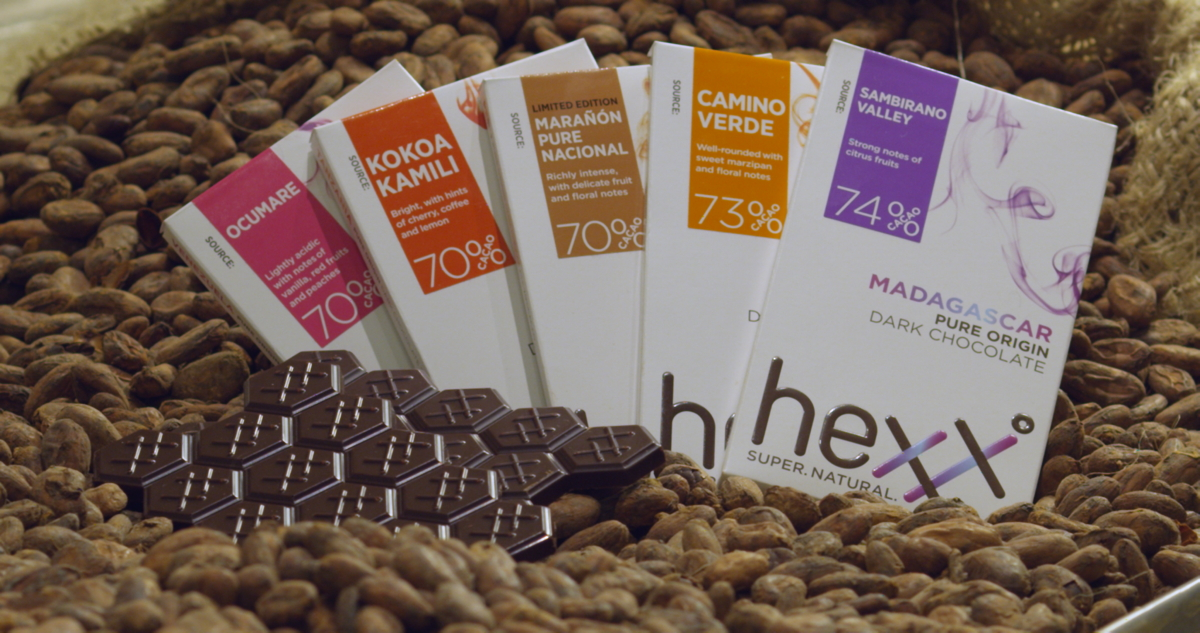 hexx chocolate authentic handcrafted bean to bar