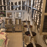 HEXX chocolate kitchen - grinding and conching