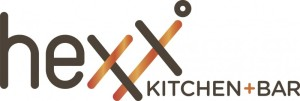 HEXX kitchen + bar logo orange