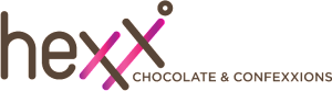 HEXX chocolate & confexxions logo pink